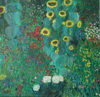 Bauerngarten-mit-Sonnenblumen